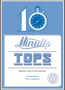 ten minutes tops